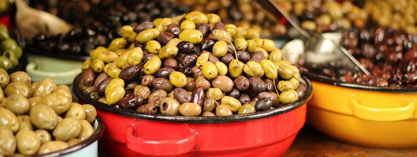Oliven, Olivenöl & Essig