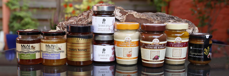 Honig, Tahini & Marmeladen
