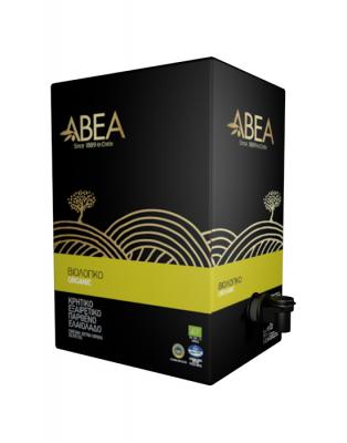 Extra natives Olivenöl von ABEA (Vorratspack mit Ausgießer) aus Kreta 3 Liter