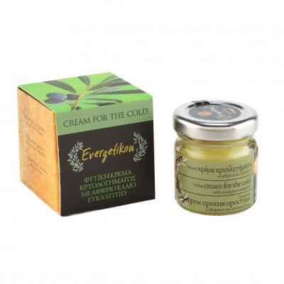 Erkältungs-Kräuterwachssalbe mit Olivenöl, Lavendel, Rosmarin & ätherischem Eukalyptusöl