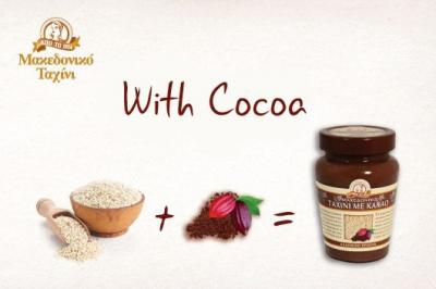 Tahini mit Kakao