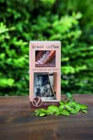 Geschenkbox mit Griechischen BIO Mokka & Briki (Kochpott) - von NEKTARCOFFEE