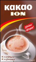 100% Kakaopulver, das jedem Getränk und Dessert, das echte ION-Vergnügen verleiht 125g