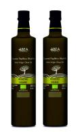 Extra natives BIO Olivenöl von ABEA aus Kreta 2x500ml