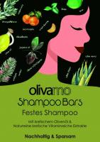 OLIVA Festes Shampoo für normales Haar mit Olivenöl, Arganöl, Limettenöl und Mandarienöl 125g von ABEA Kreta